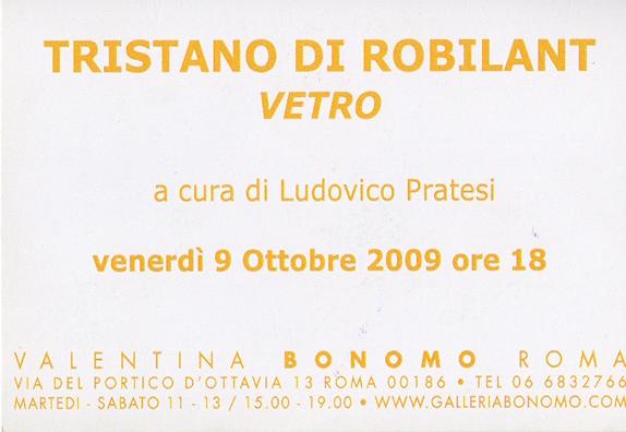 2009_Tristano di Robilant_Invito