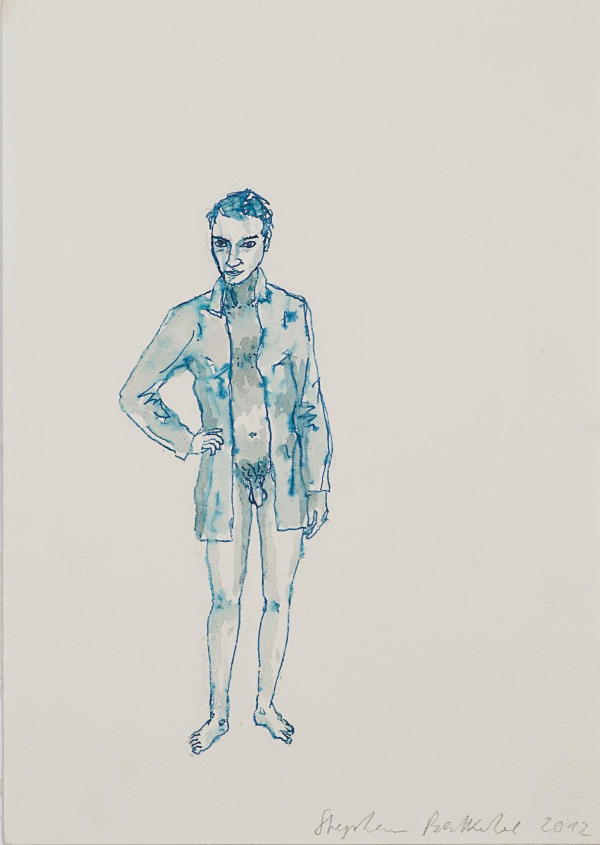 """""""Senza titolo"""" 2012, acquarello su carta, 29 x 21 cm"""