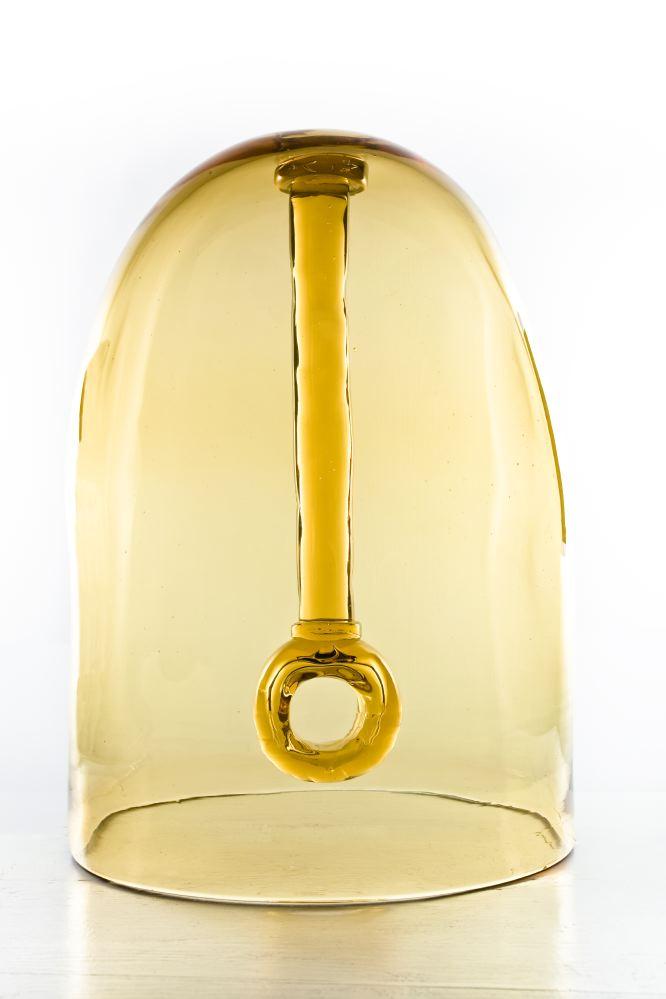 """""""Water bell"""" 2008, scultura in vetro soffiato di Murano, 25 x 25 x 38 cm"""