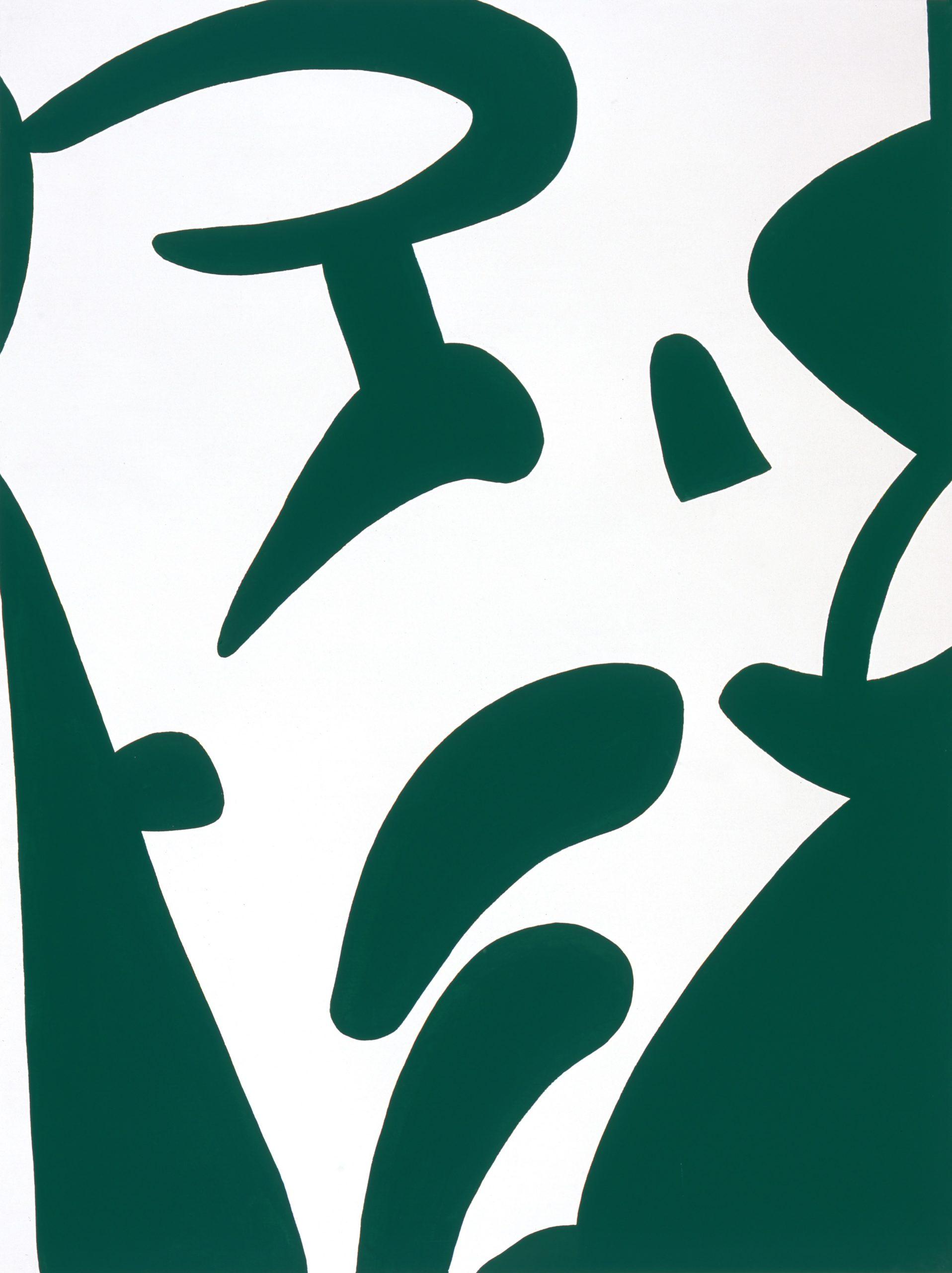 """""""Improvviso"""" 2008, vinilico su tela, 160 x 120 cm"""