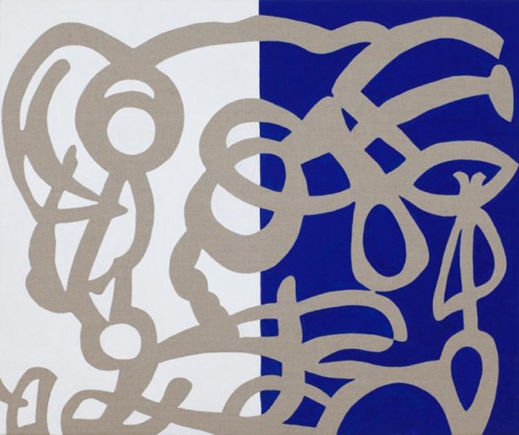 """""""Oscuro paradosso"""" 2013, acrilico su tela, 100 x 120 cm"""