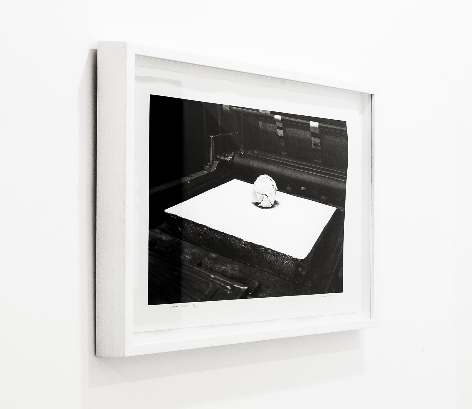 """""""Substrato figura 2"""" 2015, litografia, 45 x 70 cm, ed. 20"""