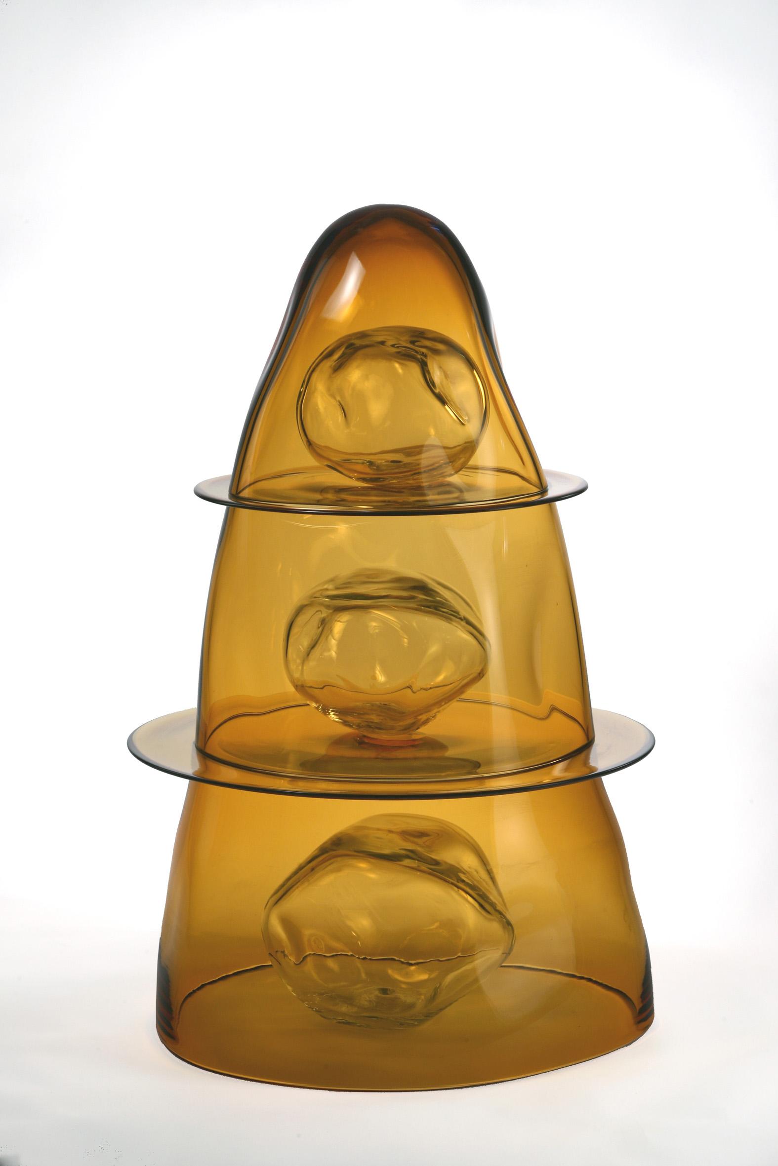 """""""Senza titolo"""" scultura in vetro soffiato di Murano"""