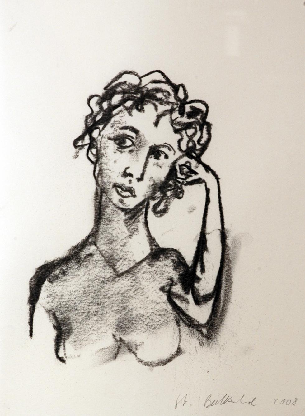 SENZA TITOLO, 2008, DISEGNO SU CARTA, 32 X 24 CM, OPERA UNICA