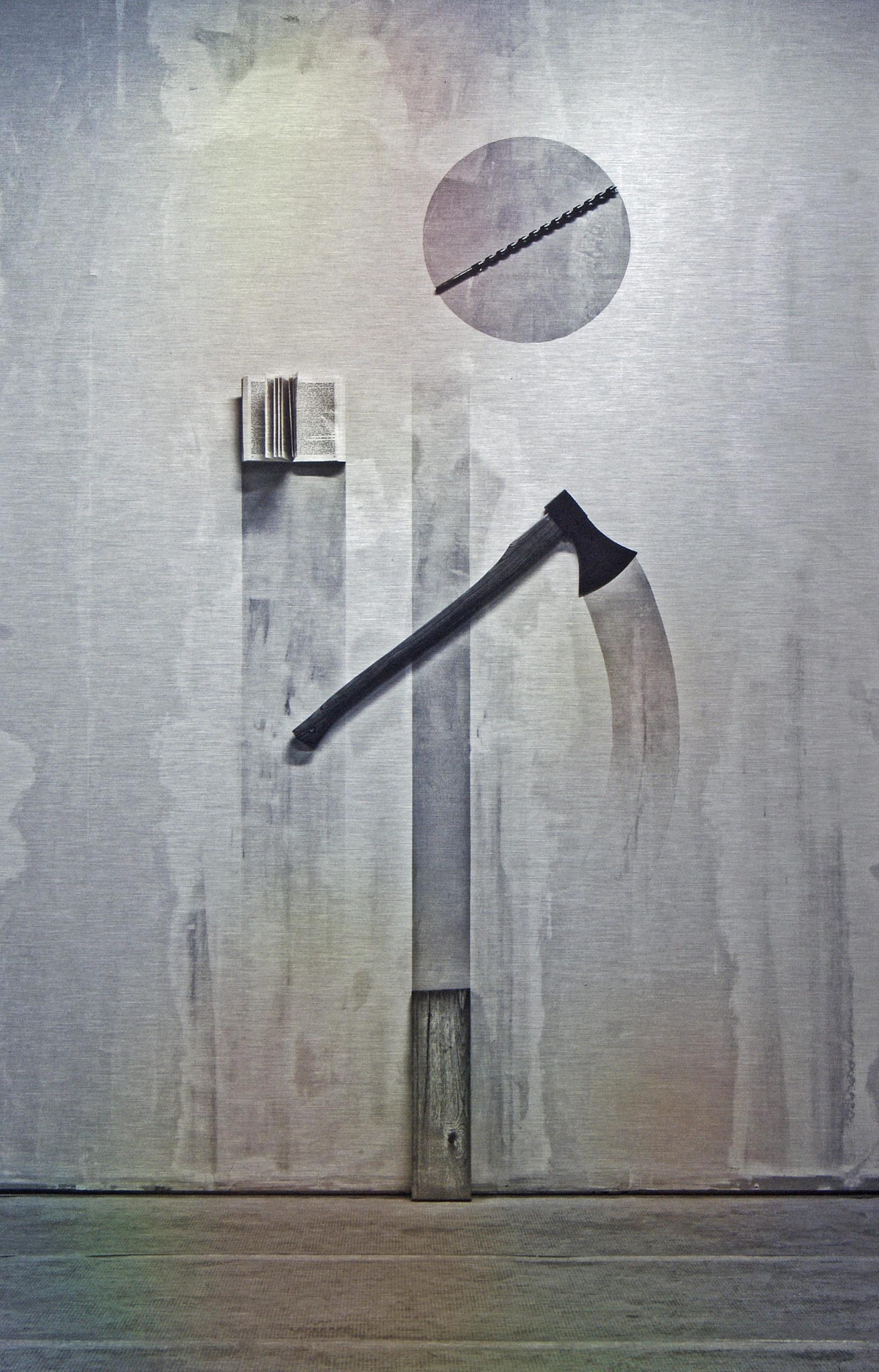 """""""Forming #1"""" 2015, stampa ai raggi UV su alluminio DBOND, 62.5 x 40.5 cm"""