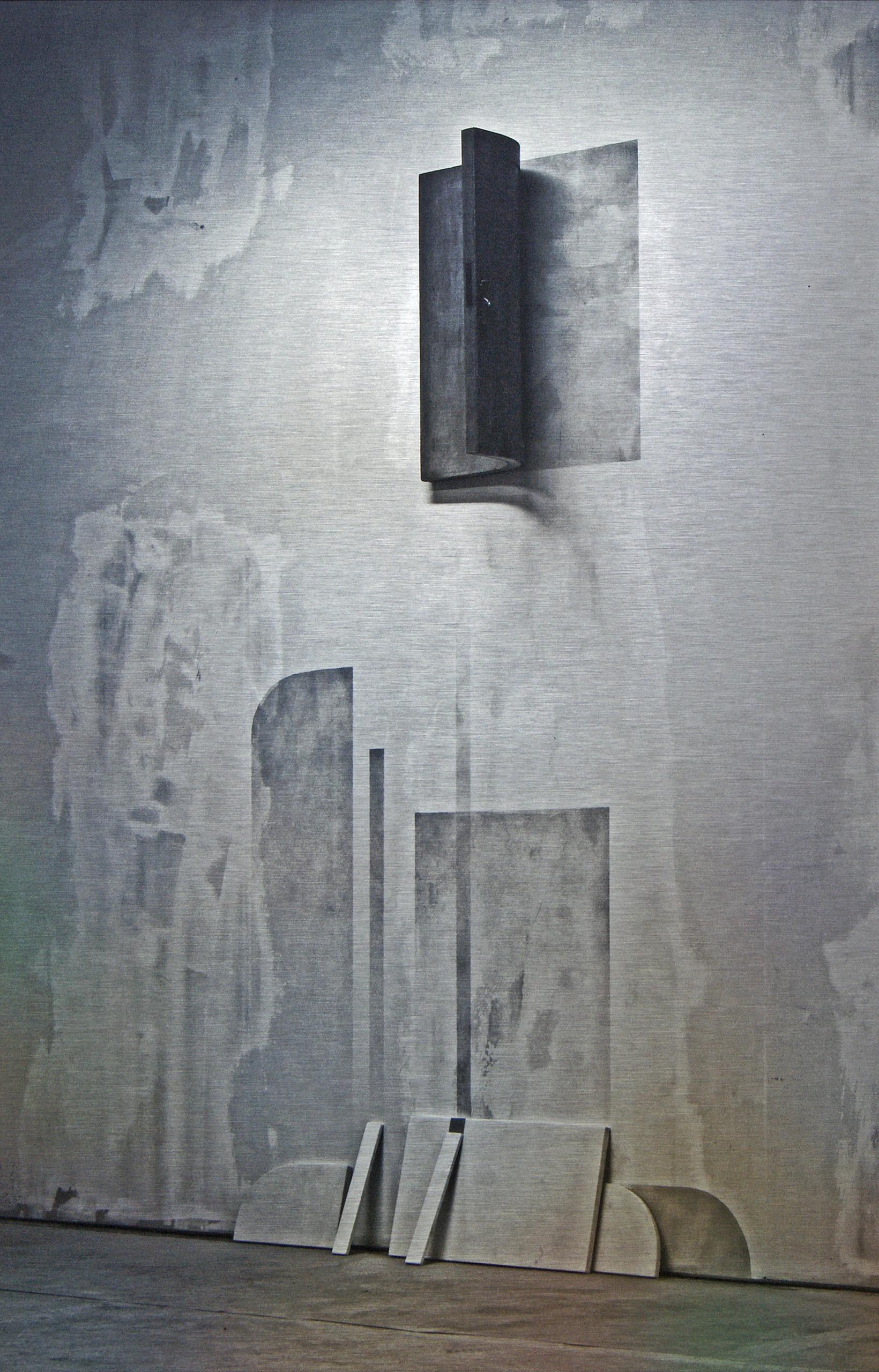 """""""Forming #3"""" 2015, stampa ai raggi UV su alluminio DBOND, 62.5 x 40.5 cm"""