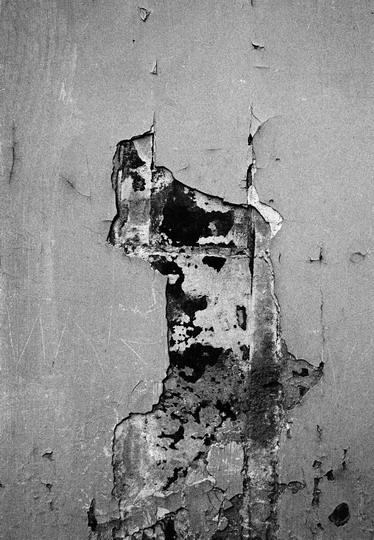 """""""Paris: graffiti on a wall"""" 1983"""