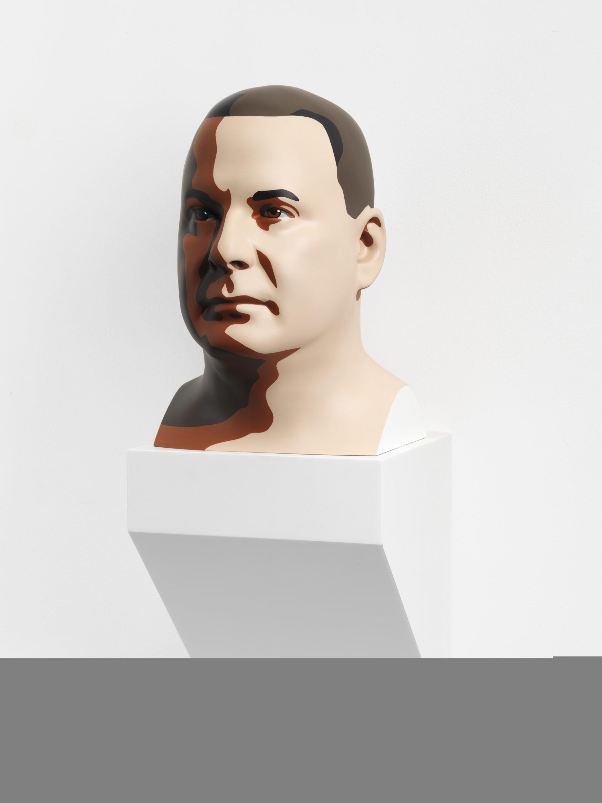 """""""Reed 2"""" 2012, stampa digitale su resina e base in corian, 45 x 30 x 37 cm"""