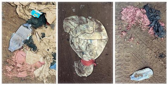 """Republic of Yemen, Sanàa: garbage in the old city"" 1999"