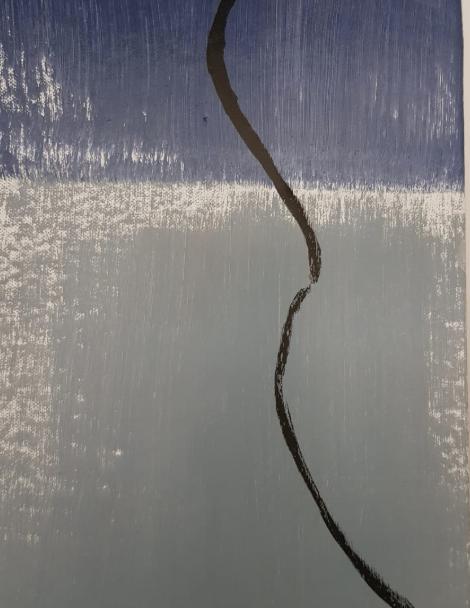 """""""Untitled"""" 2019, olio su compensato, 24 x 18 cm"""