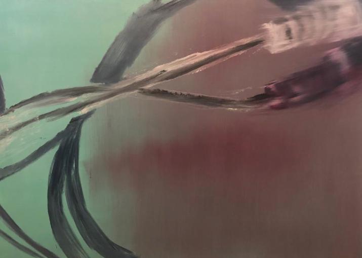 """""""Untitled"""" 2019, olio su tela, 50 x 40 cm"""