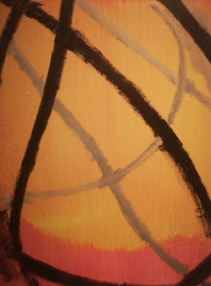 """""""Untitled"""" 2019, olio su tela, 50 x 60 cm"""