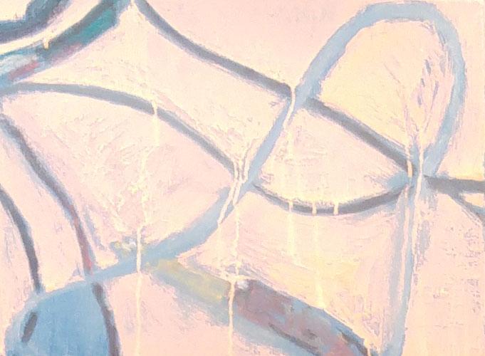 """""""Untitled (Nora's #16)"""" 2014, olio su tela, 33 x 41 cm"""