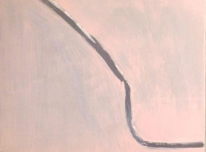 """""""Untitled (Nora's #5)"""" 2014, olio su tela, 33 x 41 cm"""