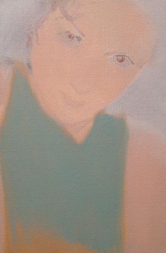 """""""Vanessa"""" 2004, olio su tela, 22 x 33 cm"""