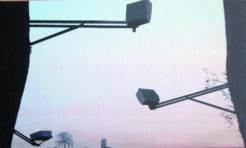 """""""La cartuja"""" 2003, olio su tela"""
