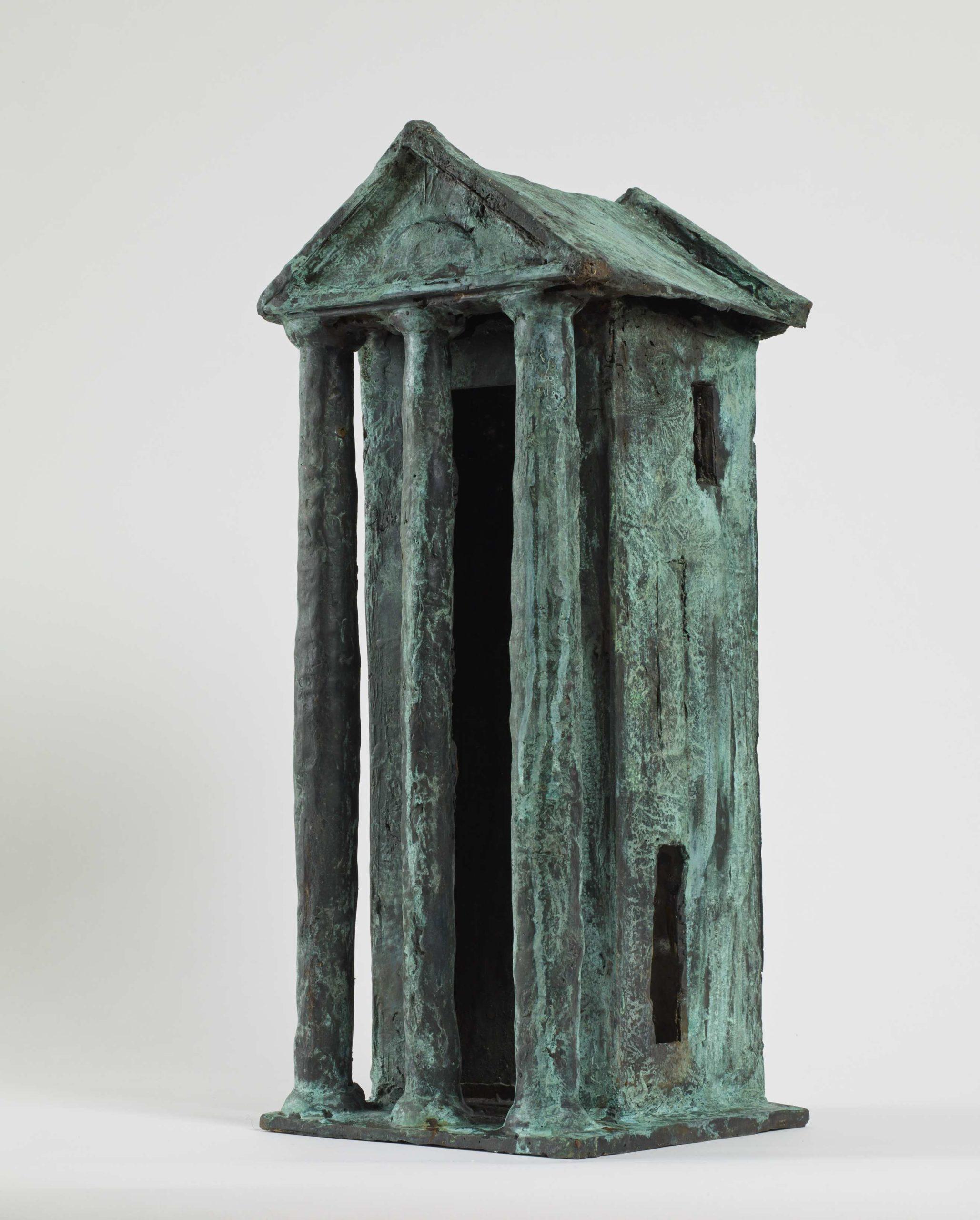 """""""The House of the Poet"""" 2013, bronzo, 55 x 22 x 22 cm"""