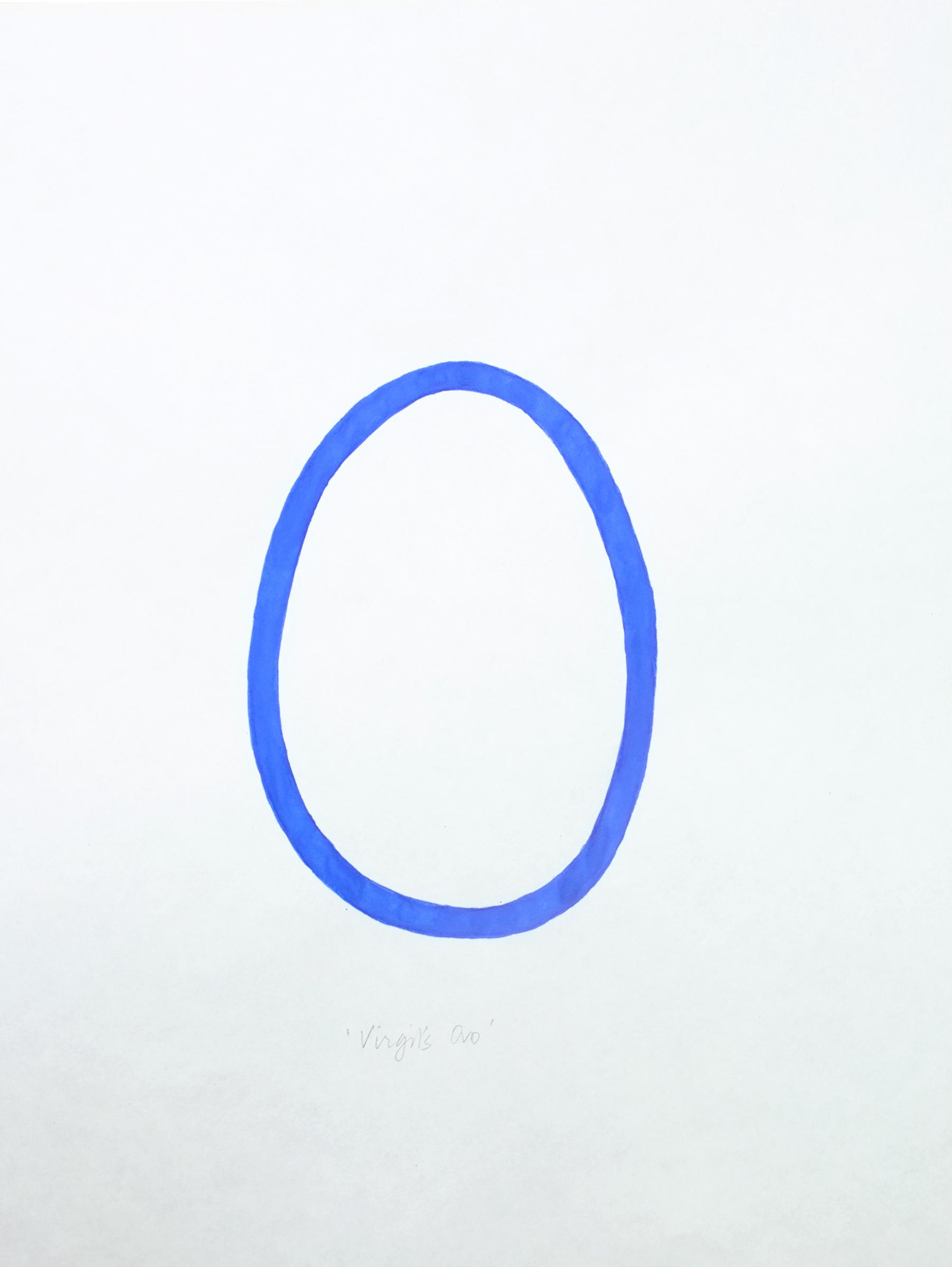 """""""Napoli Virgil's ovo"""" 2013, inchiostro su carta, 28 x 21 cm"""