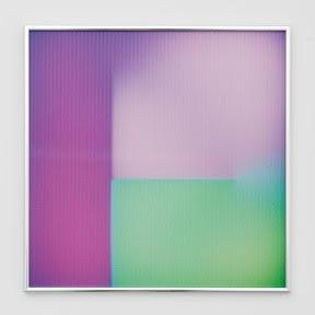"""BRIAN ENO """"Ripe"""" 2016, lenticolare - stampa digitale su PETG, 40.6 x 40.6 cm, ed. 100"""