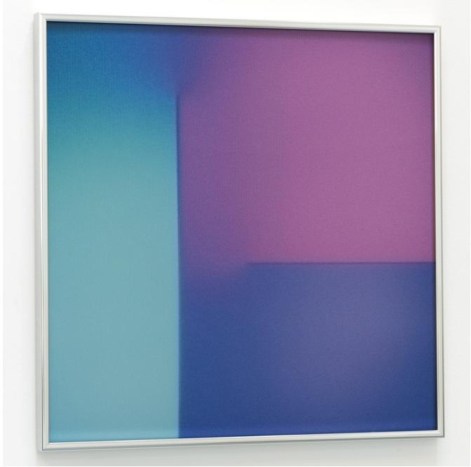 "BRIAN ENO ""Tender divisor"" 2016, lenticolare - stampa digitale su PETG, 40.6 x 40.6 cm, ed. 100"