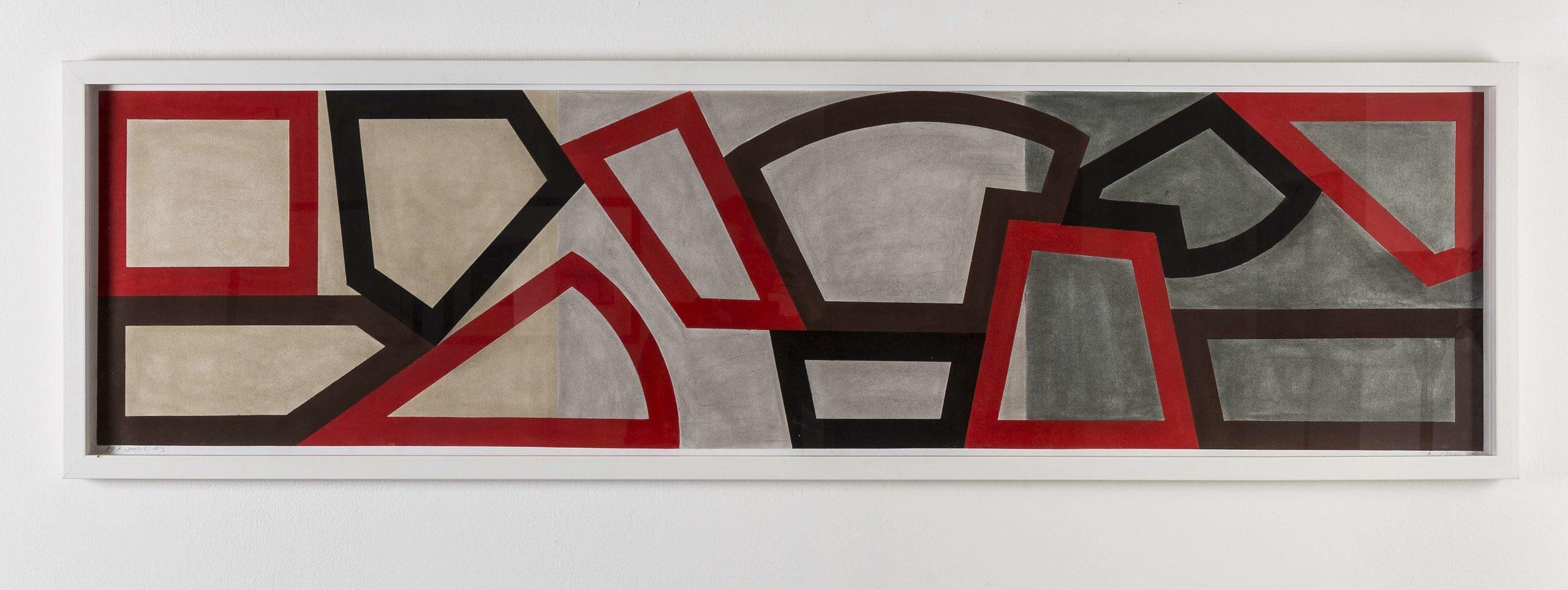 """""""F&R sketch (3)"""" 2014, pastello su carta, 40 x 122.5 cm"""