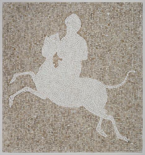 """Mirage"" 2017, mosaico, 56 x 58 cm"