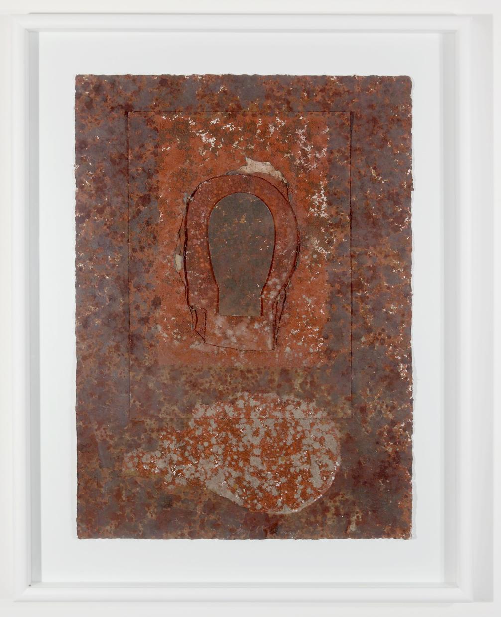 """""""Senza titolo"""" 2010, tecnica mista su cartone, 70 x 100 cm"""