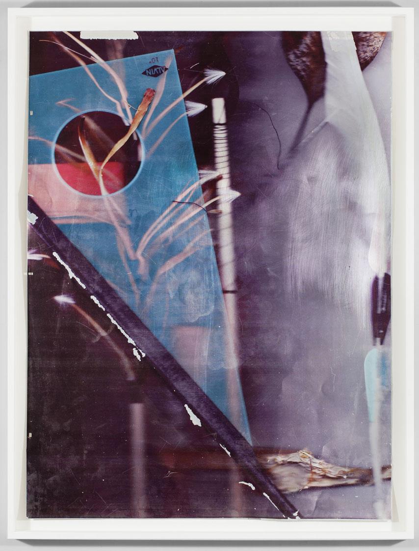 """""""Placet experiri"""" 2013, stampa ai raggi UV su alluminio, 102.5 x 78 cm"""