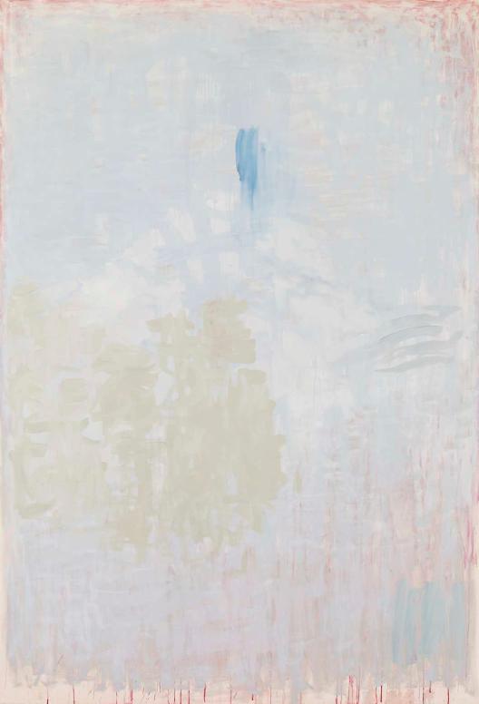 """Castle"" 2013, pittura su tela, 220.5 x 150 cm"