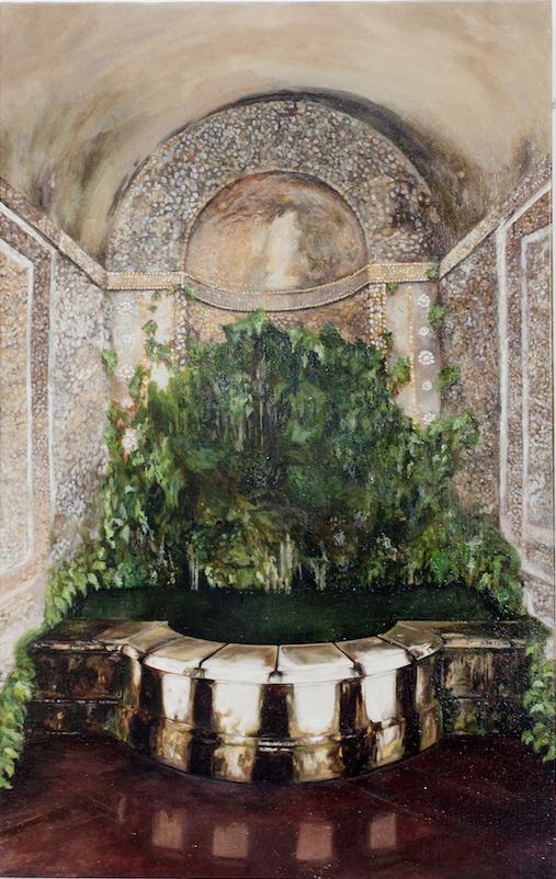 """""""Untitled"""" 2014, olio su tela, 58.4 x 37 cm"""