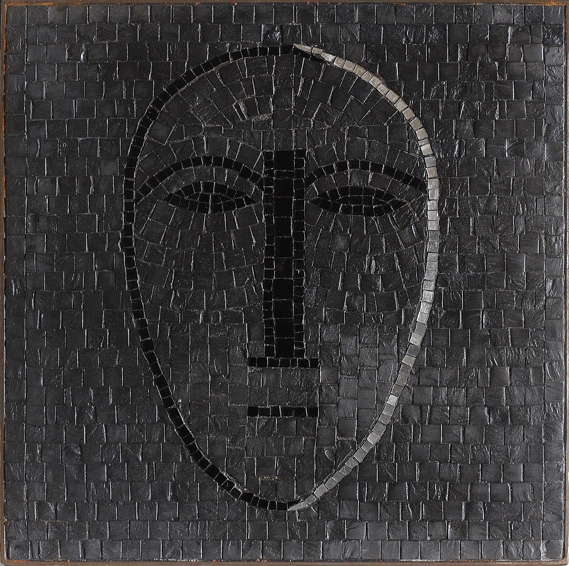 """""""Senza titolo"""" 2007, mosaico, 30 x 30 cm, ed. 100"""