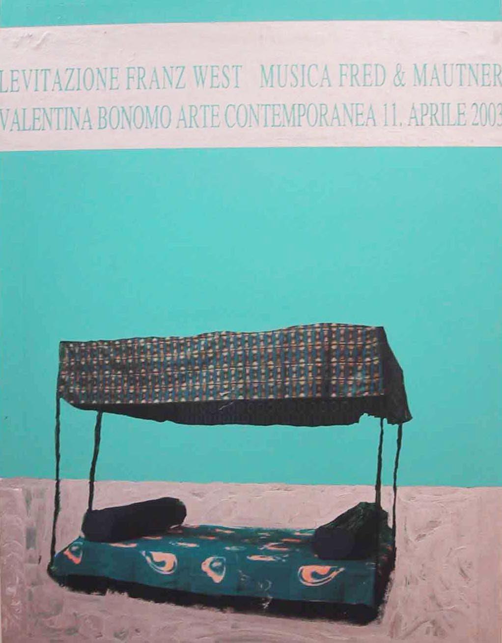 """""""Senza titolo"""" 2003, opera su carta, 101.5 x 76.5 cm"""